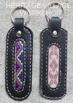 Handmade leather keychain  with ethnic  fabric .  Брелки из кожи и декоративной шёлковой ткани .  # сувенирный_брелок , #брелки , #кожаные_брелки , #кожа , #сувениры , #кожаные_сувениры , #keychain , #leather_keychain , #leathercraft ,