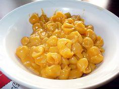 Super simple Mac & Cheese w/half & half portions of Follow Your Heart and Daiya cheeses. Could do all Daiya.