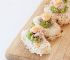 With an Epicure Perfect Petites mold no tricky sushi rolling is needed! Epicure Recipes, Shrimp Recipes Easy, Rice Vinegar, Taco Seasoning, Tex Mex, Potato Salad, Sushi, Salmon, Seafood