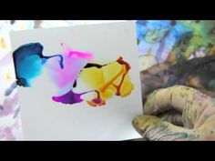 Tri -Color Sky - Alcohol Ink Art Demo Dreamscaping With June Rollins™