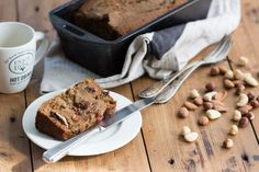 Paleo Noten Rozijnen Brood Detox Recipes, Paleo Recipes, Brownie Cake, Paleo Breakfast, Recipe Of The Day, Bread Baking, No Bake Cake, Food Hacks, I Foods