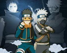#ObitoUchiha #KakashiHatake #Naruto
