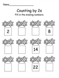 how to teach counting in twos