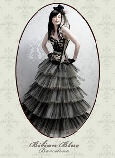 Bibian Blue – exquisite corsetry, Steampunk, Burlesque, Pin-Up & Couture outfits — thefashionatetraveller.com