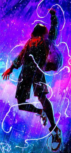 visit for more Miles Morales Ultimate Spider-Man Into the Spider-Verse The post Miles Morales Ultimate Spider-Man Into the Spider-Verse appeared first on wallpapers. Spiderman Kunst, Black Spiderman, Spiderman Spider, Amazing Spiderman, Deadpool Wallpaper, Avengers Wallpaper, Marvel Art, Marvel Heroes, Marvel Avengers