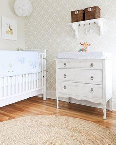 quarto de bebê papel de parede