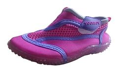 TOOSBUY Childrens Slip-On Athletic Water Shoes/Aqua Socks (Toddler/Little Kid) -- You can find more details by visiting the image link. Girls Water Shoes, Girls Shoes, Yoga Shoes, Aqua Socks, Shoes Heels Pumps, Comfortable Boots, Outdoor Woman, Athletic Shoes, Slip On