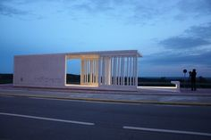 Intercity Bus Stop Shelter | ceroseis arquitectos | Archinect: