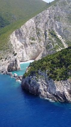 Aerial view of the many places to explore when in Zakynthos, Greece. Check out our article to find out the other European tropical islands you must visit.