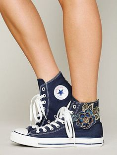 Exclusive Free People Lunar Rose Chucks. These are awesome!