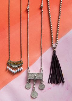 Fanned Fringe Necklace - Noonday Collection
