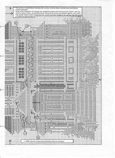 ROSE VICTORIAN INN 02 Cross Stitch House, Stitch 2, Victorian Homes, Plastic Canvas, Cross Stitching, Needlework, Diy And Crafts, Crossstitch, Case