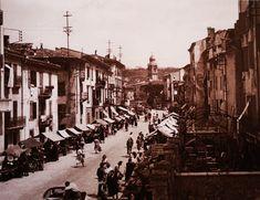Interrato dell'Acqua Morta Cargnel, anno 1949 Verona, Street View, Italia, Fotografia