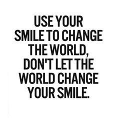 SMILE.... :-)))!! #quote #words #wordoftheday #smile