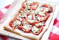 Pizza plaattaart met feta – 5 OR LESS