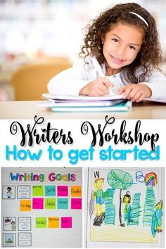 Getting started with Writer's Workshop for Kindergarten and First Grade. This blog post includes tips for getting started with Writer's Workshop.