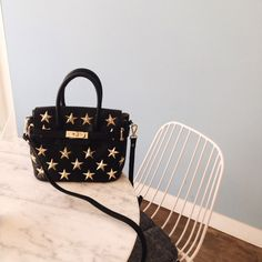 [VASA] Twinkle Twinkle Little Star Bag_Black Small