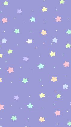 Pastels stars wallpaper
