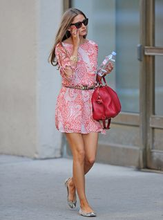 Summer Style | Olivia Palermo. Oh how I love that Sofia Coppola Collection Louis Vuitton!!!!