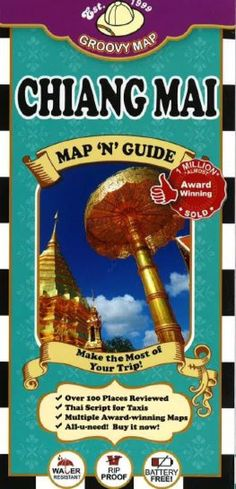 Folded laminated color map shows bars and pubs, clubs, Gymkhana cocktails, bike tours, golfing, Thai spa and massage, Thai cooking schools, romantic river cruises, delicious dining, midnight munchies