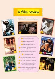 Write a Movie Review | Film, Review and As