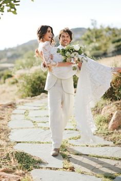 Nikki Reed and Ian Somerhalder Stun in Newly Released Wedding Pics!  Brides Magazine, Ian Somerhalder, Nikki Reed
