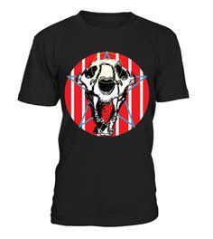 tshirt Lion Skull Americana