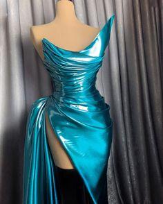 "L e n a B e r i s h a on Instagram: ""#lenaberisha"" Look Fashion, Fashion Details, High Fashion, Beautiful Prom Dresses, Dream Wedding Dresses, Couture Fashion, Runway Fashion, Red Carpet Gowns, Fantasy Dress"