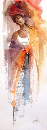 Fine Art Portfolio represents established (since South African Art Galleries & Artists Watercolor Ideas, Watercolor Portraits, Watercolor Landscape, Watercolor Illustration, Watercolour Painting, South African Art, African American Art, Black Art Painting, Figure Painting