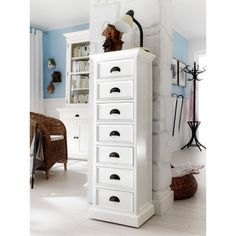 Nova Solo Halifax 7 Drawer Lingerie Chest - Dressers at Hayneedle