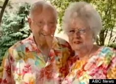 Married Matching Couple - this is sweet!  and a little strange too   LOL