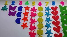 Learn To Count 1 to 10 with Numbers! Play Doh House and Kinder Surprise ...