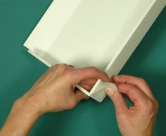 Making drawer boxes with foamboard