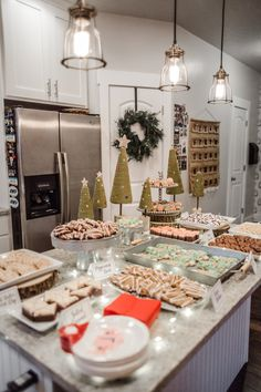 Cookies and Milk Santa Christmas Party | Kelsey Bang