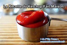 Allez, en cuisine pour fabriquer soi-même son ketchup rapide !  Découvrez l'astuce ici : http://www.comment-economiser.fr/faire-ketchup-maison.html?utm_content=bufferb6b71&utm_medium=social&utm_source=pinterest.com&utm_campaign=buffer