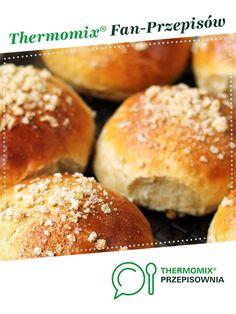 BUŁECZKI MAŚLANE Z NADZIENIEM jest to przepis stworzony przez użytkownika Raf. Ten przepis na Thermomix<sup>®</sup> znajdziesz w kategorii Chleby & bułki na www.przepisownia.pl, społeczności Thermomix<sup>®</sup>. Hamburger, Bread, Recipes, Food, Fitness, Silver, Thermomix, Cooking Recipes, Kochen