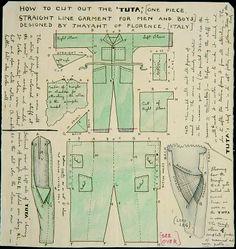 Ernesto Thayaht: suit, fashion, futurism