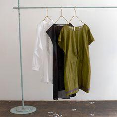 Herringbone pencil dress - nani IRO sumau