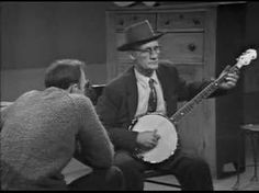"""Two Songs by Roscoe Holcomb    Roscoe Holcomb, Mr High Lonesome himself, performs """"Little Birdy"""" and """"Graveyard Blues"""" on Pete Seeger's TV show from the 60s"""