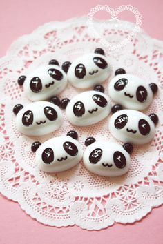 Cute Kawaii Panda Face Cabochon by PetitChu on Etsy, kr25.60