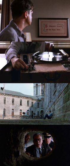 You are watching the movie The Shawshank Redemption on Putlocker HD. Framed in the for the double murder of his wife and her lover, upstanding banker Andy Dufresne begins a new life at the Shawshank prison, where he puts Die Verurteilten, Roger Deakins, The Shawshank Redemption, Tv Show Music, Light Film, Movie Shots, Film Inspiration, Film Strip, Love Movie