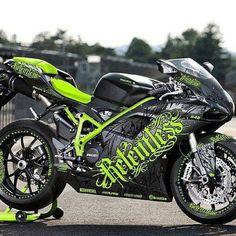 Custom Ducati...maybe not in green, but definitely a badass design
