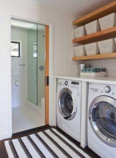 bathroom laundry room combination small bathroom laundry. Black Bedroom Furniture Sets. Home Design Ideas