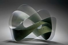 (13) Heike Brachlow Glass Sculpture