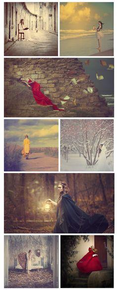Anka Zhuravleva. What I like to call Fairy Tale Photo Shoots! @mariaacooper ^