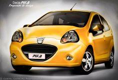 Dacia Pika.  Mini class -  design proposal.