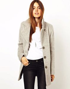 clean and simple - love the mohair coat