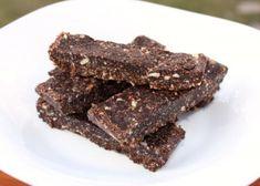 Raw kokosovo čokoládové tyčinky, Zdravé recepty, recept | Naničmama.sk