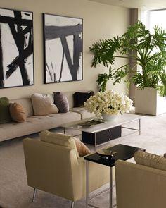 Living Room Color Palette  Kevin Sharkey's Apartment  http://homedesign.marthastewart.com/
