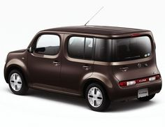 Nissan Cube. I Love my Lil Cube - my color - indigo. It's cute!